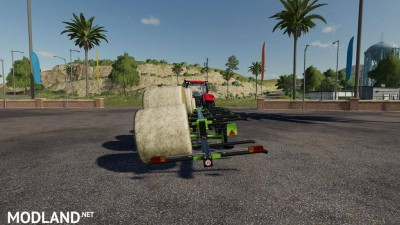 Lizard TR-10 Round Bale Trailer v 1.0, 2 photo