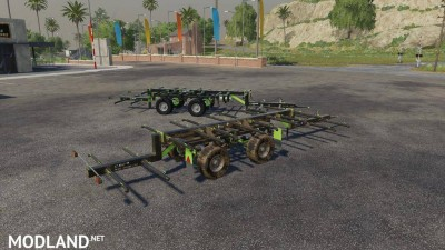Lizard TR-10 Round Bale Trailer v 1.0, 3 photo