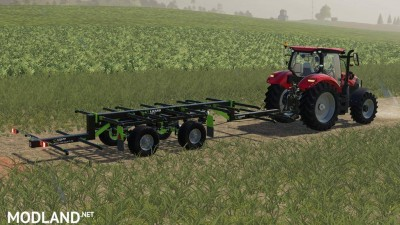 Lizard TR-10 Round Bale Trailer v 1.0, 1 photo