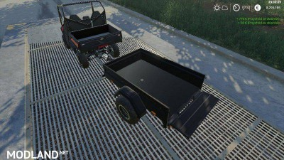 Mahindra trailer by LOWEL v 1.1, 2 photo