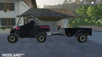 Mahindra trailer by LOWEL v 1.1, 4 photo