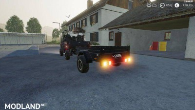 Mahindra trailer by LOWEL v 1.1, 1 photo