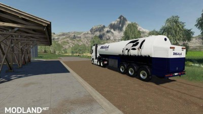 Milk transport semi-trailer v 1.0, 2 photo