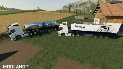 Milk transport semi-trailer v 1.0, 3 photo