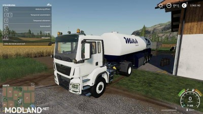 Milk transport semi-trailer v 1.0, 4 photo