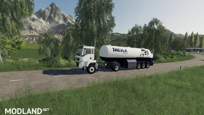 Milk transport semi-trailer v 1.0, 5 photo