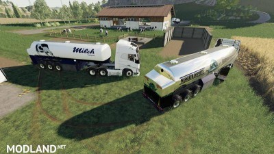 Milk transport semi-trailer v 1.0, 6 photo