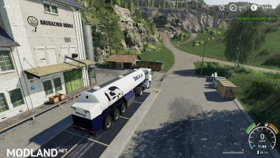 Milk transport semi-trailer v 1.0, 7 photo