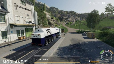 Milk transport semi-trailer v 1.0, 8 photo