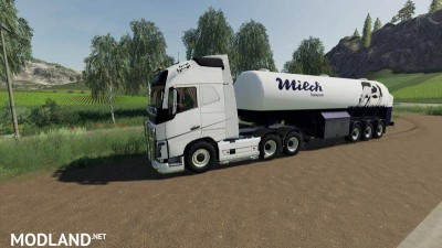Milk transport semi-trailer v 1.0, 1 photo