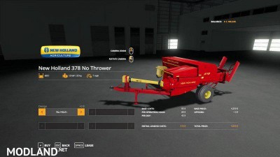 New Holland 378 Baler with Options v 1.2, 3 photo