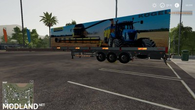New Holland Kogel Autoloader Trailer v 1.0, 2 photo