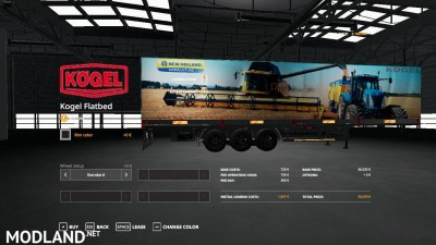 New Holland Kogel Autoloader Trailer v 1.0, 1 photo