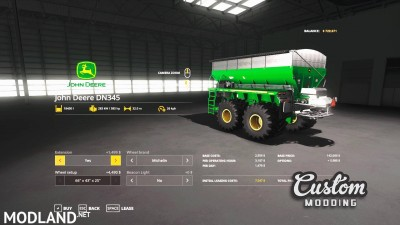 New Leader NL345 / John Deere DN345 v 1.0, 6 photo