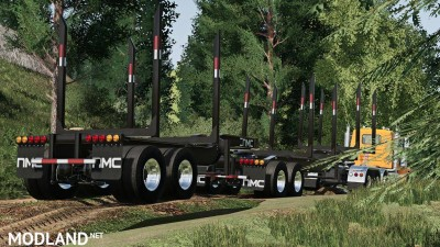 NMC US Log Trailers v 1.0, 1 photo