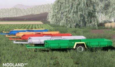 NP-25 Autoload bale trailer v 1.0, 2 photo