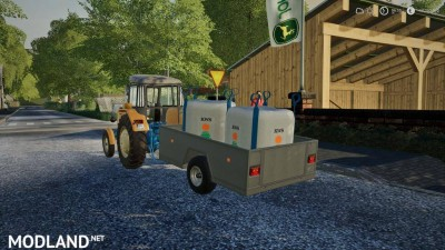 One Axle Trailer v 1.0