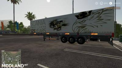 Scania 125 Years Kogel Autoloader Trailer v 1.0, 2 photo