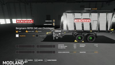 Self-loading wagon Modpack Color / Chrome Edtion v 1.0, 10 photo