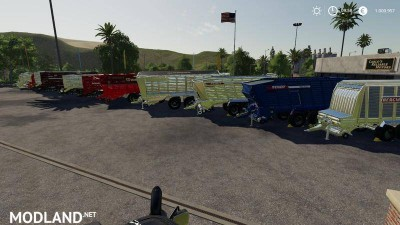 Self-loading wagon Modpack Color / Chrome Edtion v 1.0, 3 photo