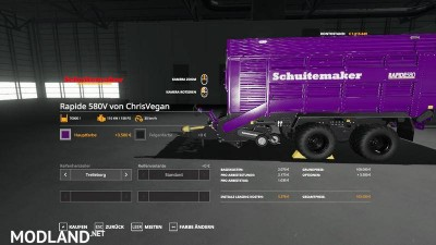 Self-loading wagon Modpack Color / Chrome Edtion v 1.0, 7 photo