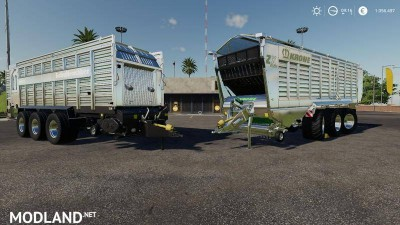 Self-loading wagon Modpack Color / Chrome Edtion v 1.0 - Direct Download image