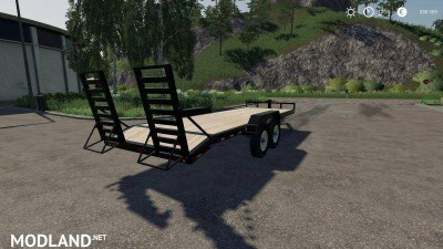 Skidsteer Trailer v 1.1, 3 photo