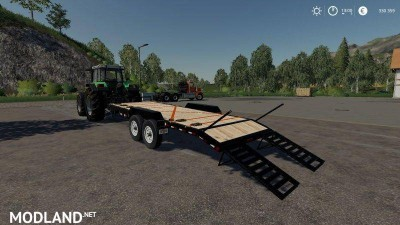 Skidsteer Trailer v 1.1, 4 photo