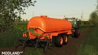 Slurry Tanker 14 with injector v 1.1, 2 photo