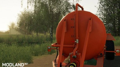 Slurry Tanker 14 with injector v 1.1, 3 photo