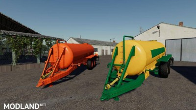 Slurry Tanker 14 with injector v 1.1, 1 photo