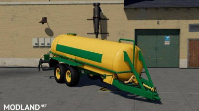 Slurry Tanker 14 with injector v 1.0, 2 photo