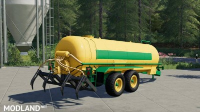 Slurry Tanker 14 with injector v 1.0, 3 photo