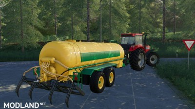 Slurry Tanker 14 with injector v 1.0, 1 photo