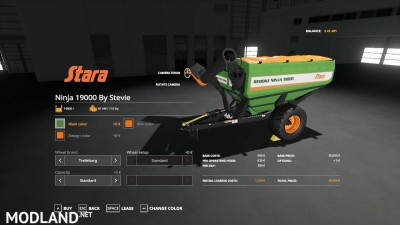 Stara Ninja 19000 Auger Wagon By Stevie, 1 photo