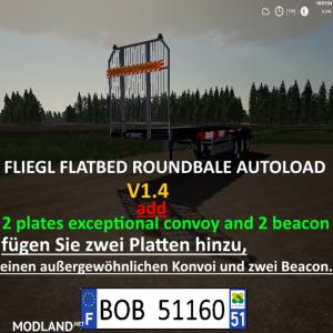 FLIEGL FLATBED ROUND AUTOLOAD v 1.4, 1 photo
