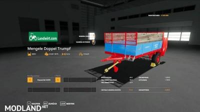 Trailer manure spreader pack v 1.0, 3 photo
