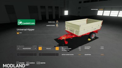 Trailer pack Universal 1 Achs Kipper v 1.0, 5 photo