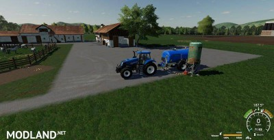 Zunhammer milk and water barrel v 1.1, 2 photo