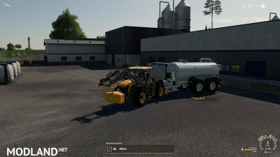 Zunhammer milk water trailer v 1.0, 4 photo
