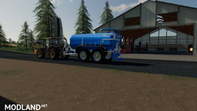 Zunhammer milk water trailer v 1.0, 1 photo