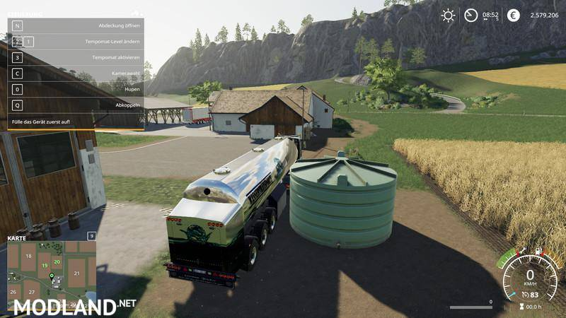 New Dump Trucks >> Water transport semi-trailer v 1.0
