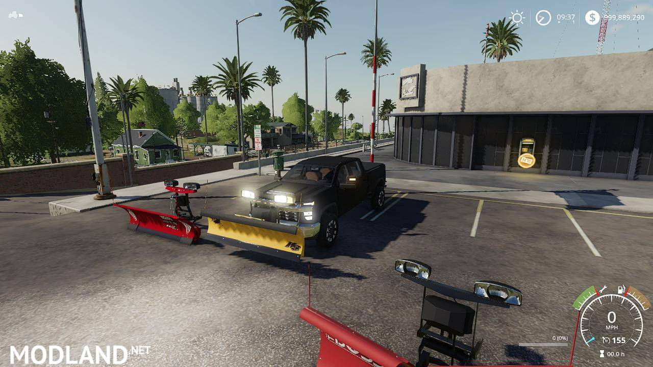 2020 Chevy plow truck v 1.0