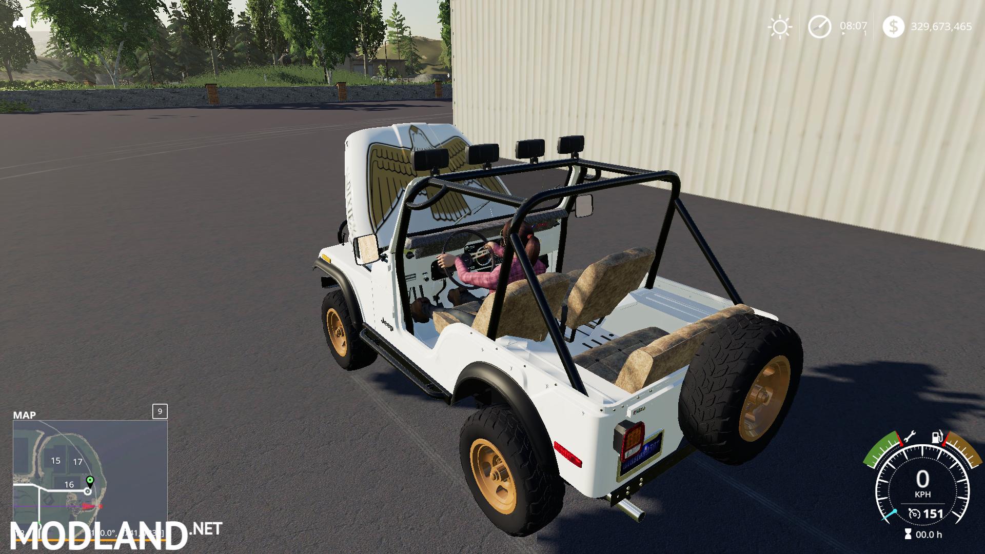 Fs19 Daisy's Jeep