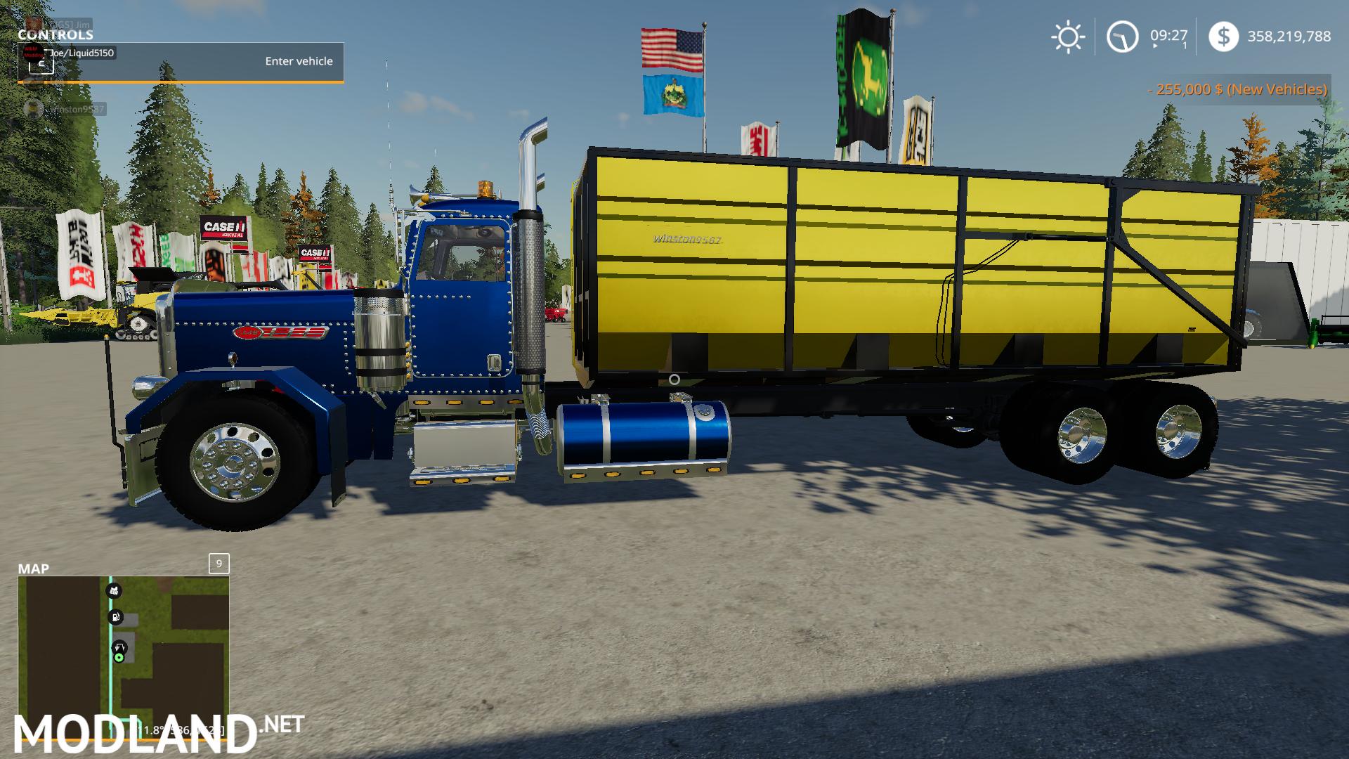 FS19 Peterbilt Grain Truck