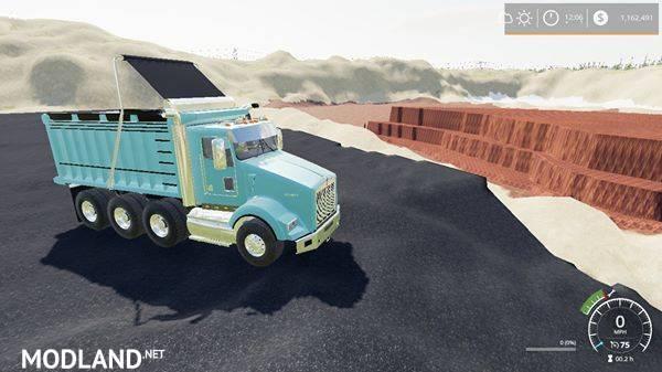 kenworthT800 dump truck