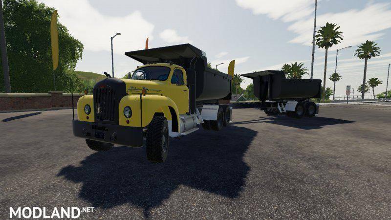 Mack B61 Dump and Trailer