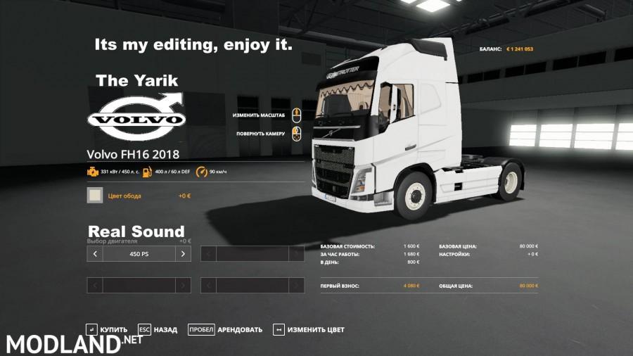 Volvo FH16 2018
