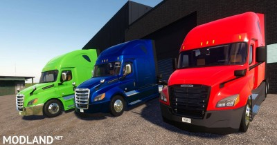2018-2021 Freightliner Cascadia P4 v 1.0, 1 photo