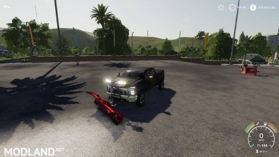 2020 Chevy plow truck v 1.0, 8 photo